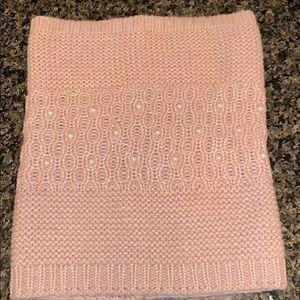 Blush Betsey Johnson Cowl scarf